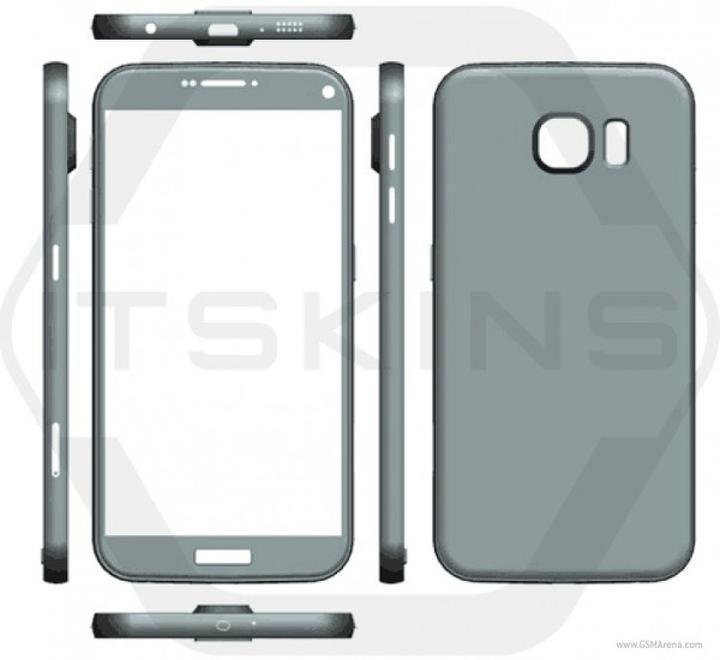 Samsung Galaxy S7 tasarım şeması sızdırıldı