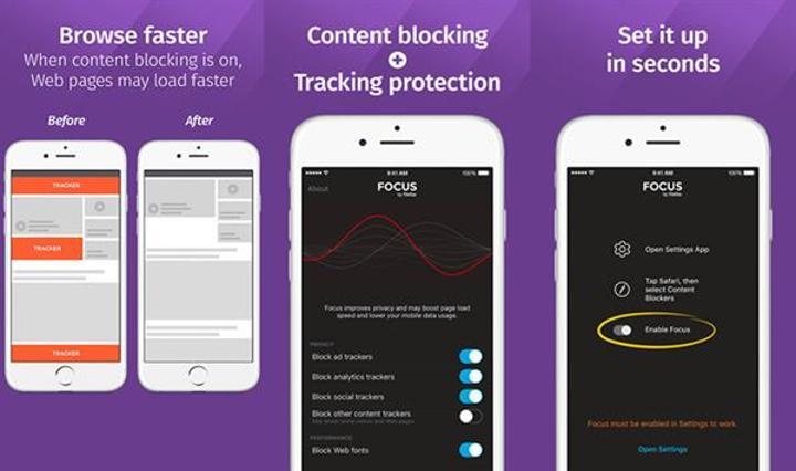 Mozilla'dan Safari'ye özel yeni reklam engelleyici: Focus