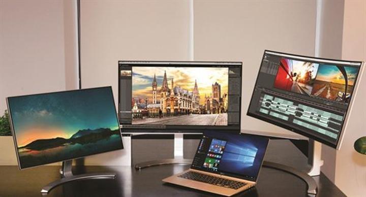 CES 2016: LG'den yeni monitör ve bilgisayarlar