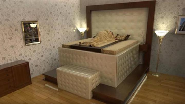Depreme dayanıklı yatak konsepti!