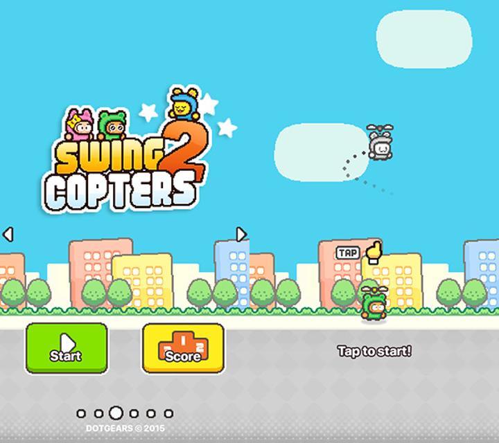 Swing Copters 2 yine sizi sinir edecek