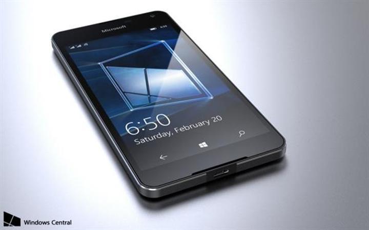 Microsoft'un giriş seviyesindeki yeni savaşçısı Lumia 650 gün yüzüne çıktı