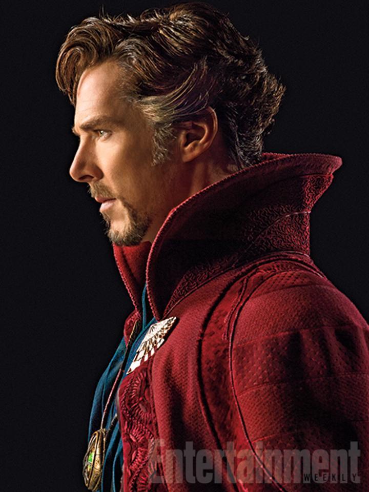 Yeni Marvel filmi Doctor Strange'den ilk görüntüler