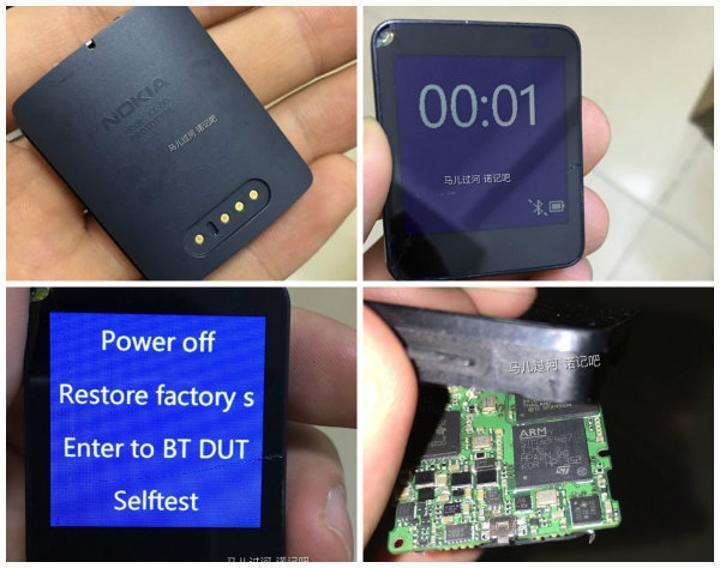Nokia'nın iptal edilen akıllı saati internete sızdırıldı