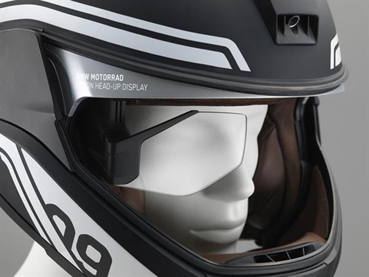 BMW, HUD ekranını motosiklet kasklarına getiriyor