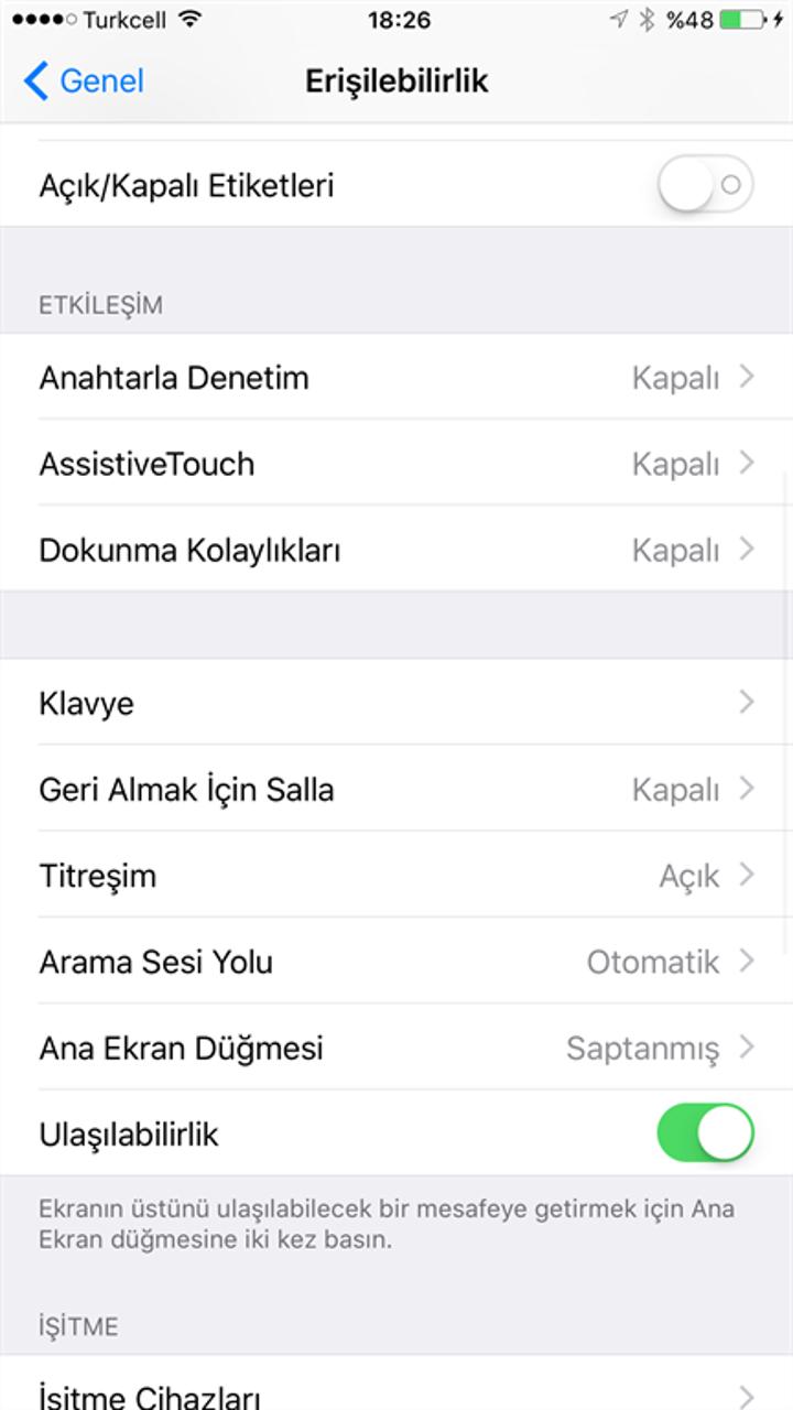 """iOS 9'un """"Geri Almak İçin Salla"""" özelliği nasıl devre dışı bırakılır"""