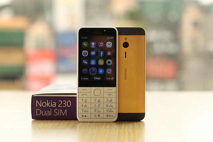 Lüks arayanlara altın kaplama Nokia 230