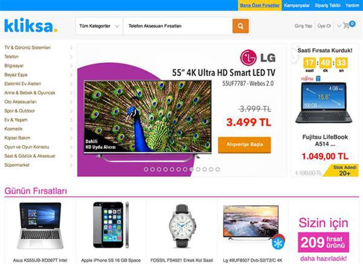 Kliksa, Teknosa'nın online outlet mağazası oldu