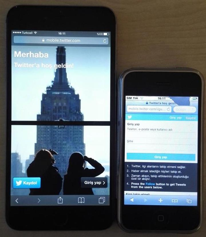 Birinci Nesil iPhone'da bugünün web siteleri nasıl görünüyor?