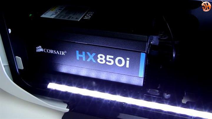 Corsair'ın tepe modellerinden HX850i güç kaynağı incelemesi