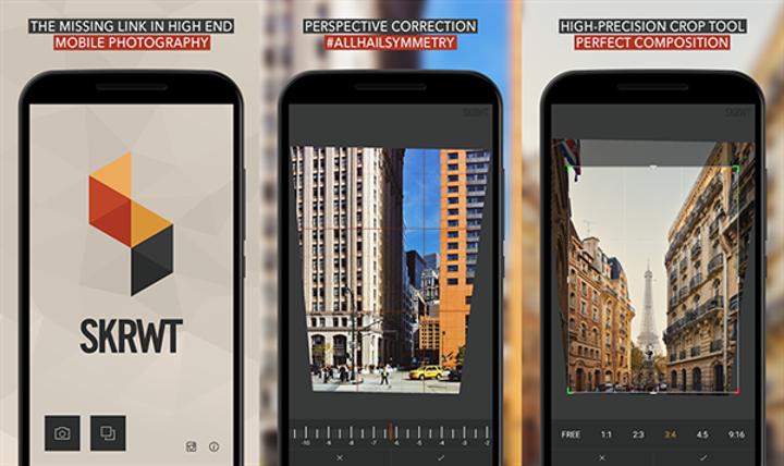 Optik bozukluklara odaklanan SKRWT, Android için de yayınlandı