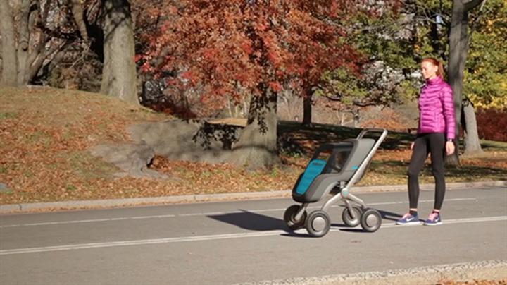 Otomobilleri unutun, sürücüsüz bebek arabası geliyor!
