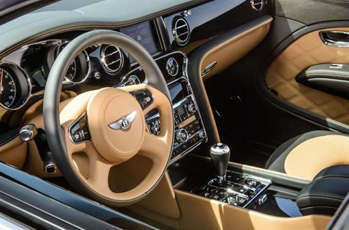Bentley'in amiral gemisi Mulsanne Speed, 4G bağlantı ve masaj koltukları sunuyor