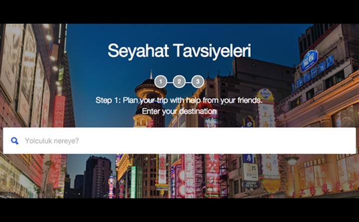 Foursquare'den tatil keşfini kolaylaştıran yeni site