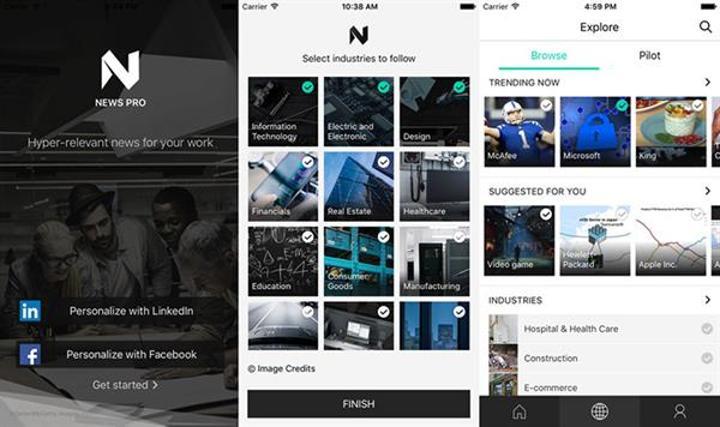 Microsoft, yeni iOS uygulaması News Pro'yu yayınladı