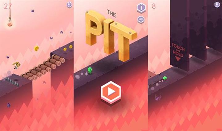 Ketchapp'dan sonsuz koşu türünde yeni oyun: The Pit