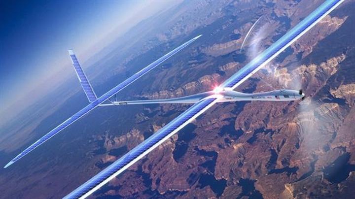 Google drone'lar ile gökyüzünden 5G internet sunmayı planlıyor