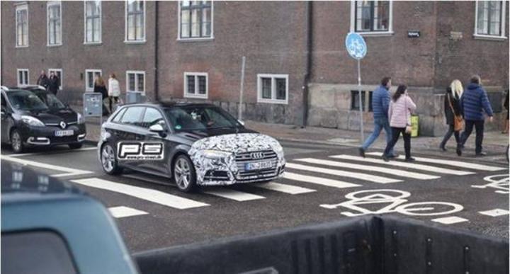 2017 Audi S3 önü kamuflajlı olarak görüntülendi