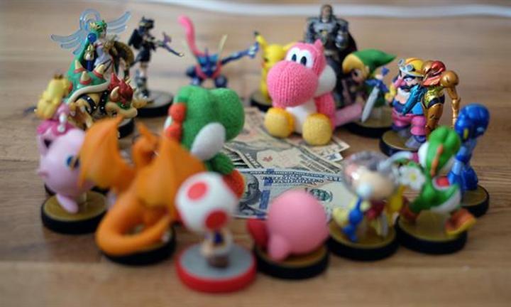 Nintendo, Amiibo'lar ile kasasını dolduruyor