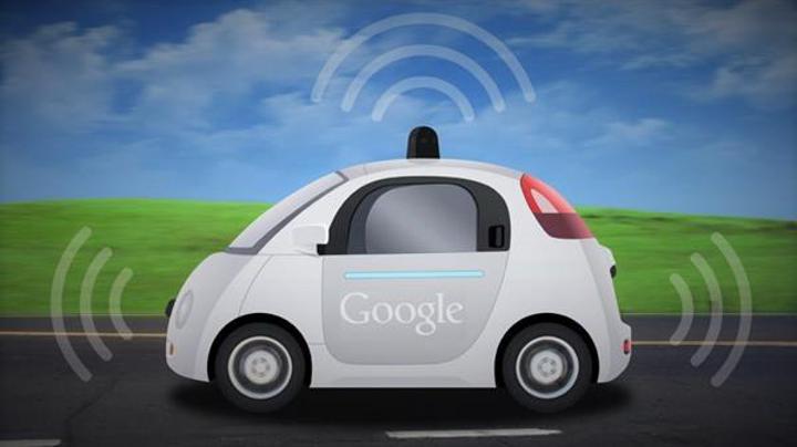 Google sürücüsüz kargo aracı için patent aldı