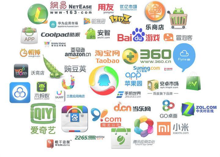 Çin mobil uygulama pazarı, ABD'yi geçmek üzere