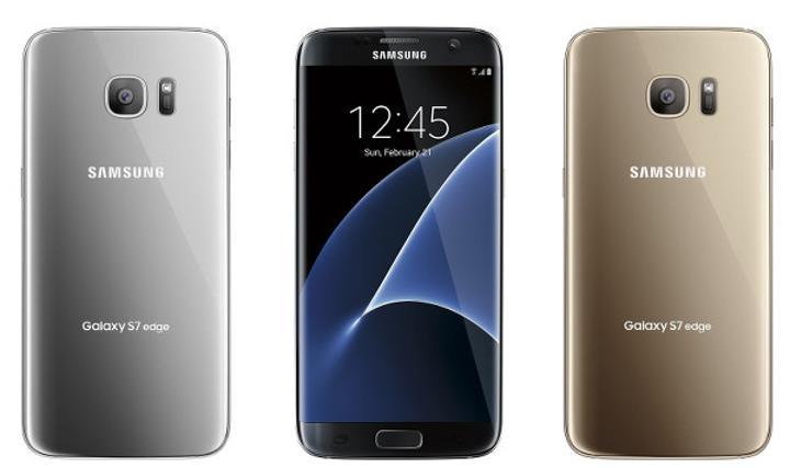 Samsung Galaxy S7 Edge, tüm renk seçenekleri ile karşınızda