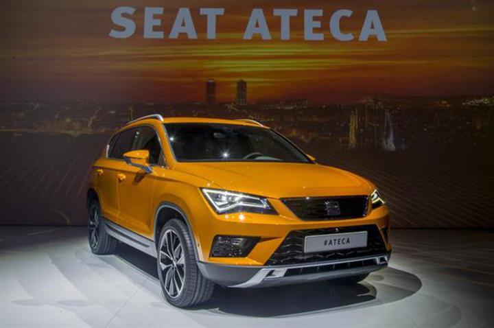 SEAT ilk SUV modeli ATECA'yı gün yüzüne çıkardı
