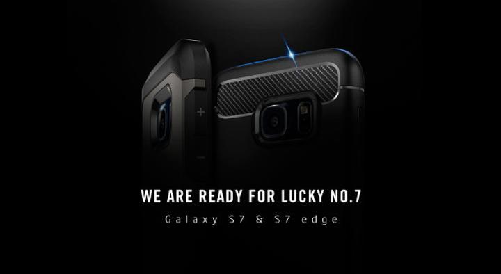 Spigen Galaxy S7 kılıfları, ön siparişe başladı