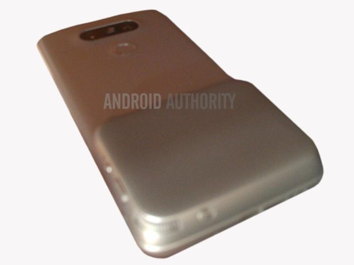 LG G5, sihirli bağlantı noktası ile görüntülendi
