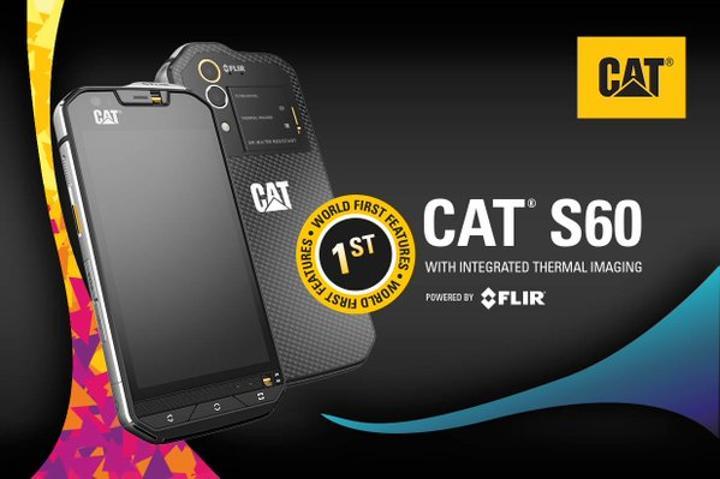 Dünyanın ilk termal kameralı akıllı telefonu Cat S60 ile tanışın