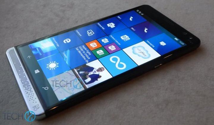 İşte HP'nin Windows 10 akıllı telefonu