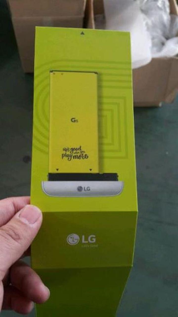 LG G5 bu kez tüm ayrıntılarıyla sızdırıldı