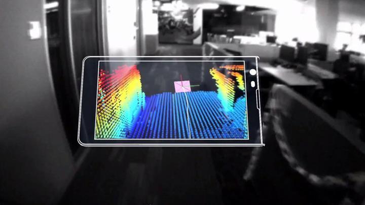 Google VR'ın gizli silahı: Project Tango
