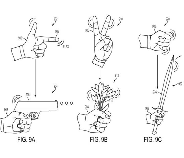 Sony'den yeni bir harekete duyarlı kontrolcü patenti