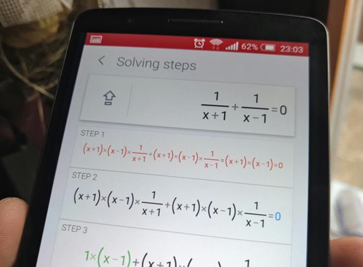 PhotoMath 2.0 ile matematik işlemleri daha kolay