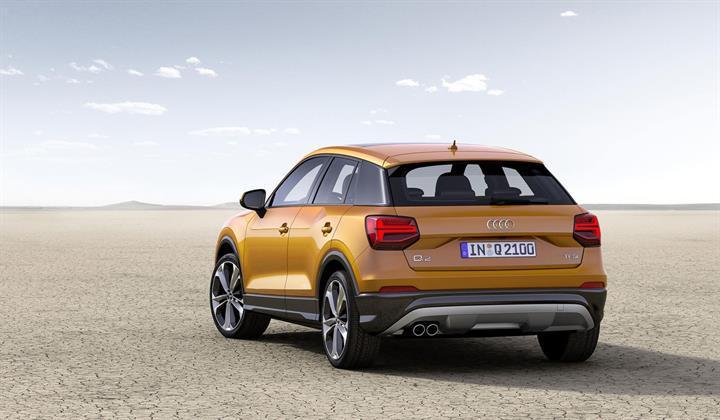 Audi yeni SUV modeli Q2'yi duyurdu