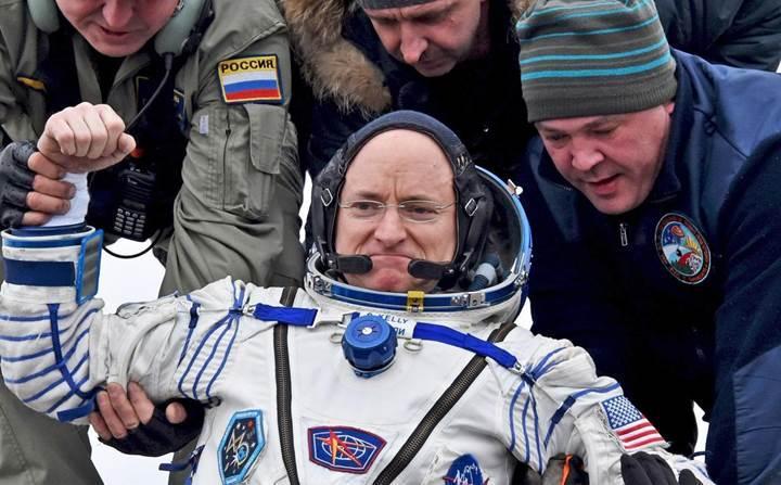 Uzayda bir yılın sonuçları: Scott Kelly, artık daha genç ve daha uzun