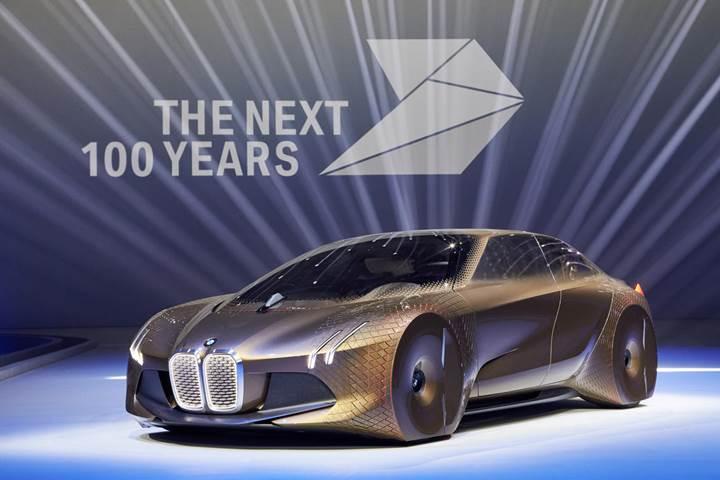 BMW'den hayranlık uyandıran gelecek konsepti [Video]