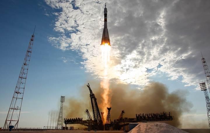 3 astronot birazdan Uzay İstasyonu'na fırlatılacak (CANLI)(Astronotlar ISS'e giriş yaptı)
