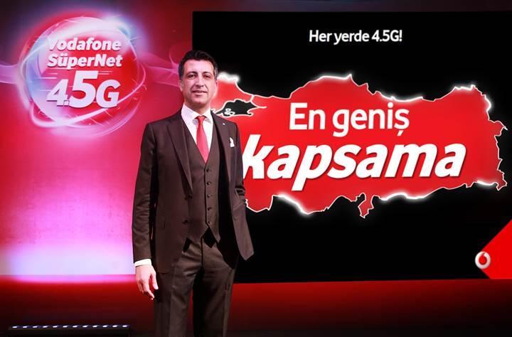 Vodafone ilk 15 günde 4.6 milyon 4.5G abonesine ulaştı