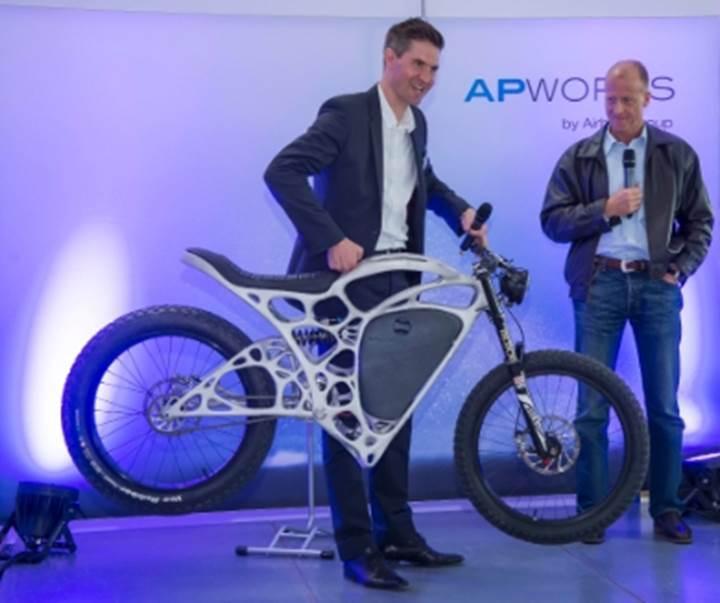 Karşınızda alüminyum tozundan 3B baskı yöntemiyle üretilen motosiklet