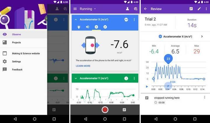 Google Science Journal ile telefonunuzda deneyler yapın