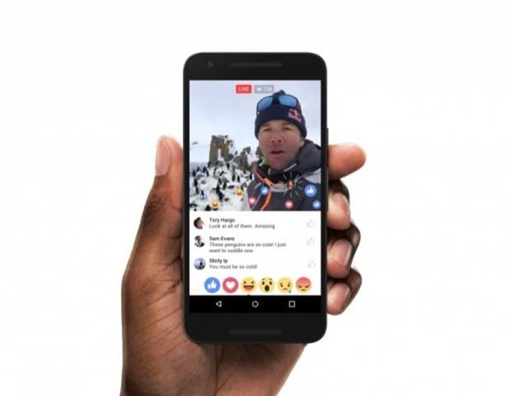Facebook Live'a event ve group desteği geliyor