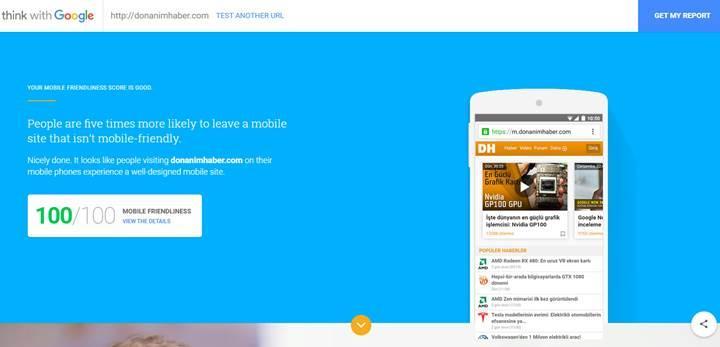 Google'ın yeni aracı web sitenizin hızını test etmenize yardımcı oluyor