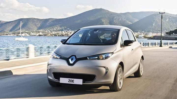 Renault ZOE Fransa elektrikli araç pazarının %38'ine sahip