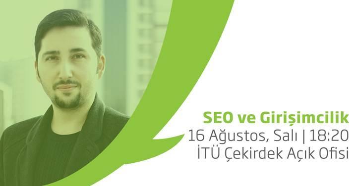 SEO ve Girişimcilik seminerine davetlisiniz