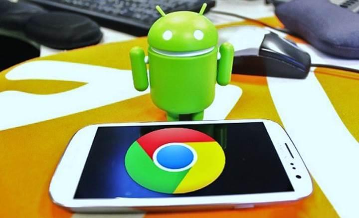 Chrome'un güncellenen Android uygulaması pilden önemli oranda tasarruf yapacak