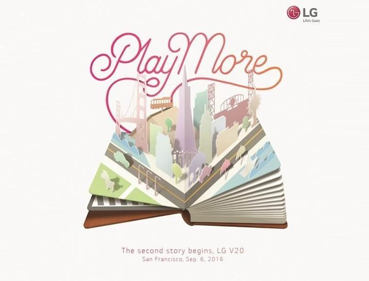 LG V20, 6 Eylül'de geliyor