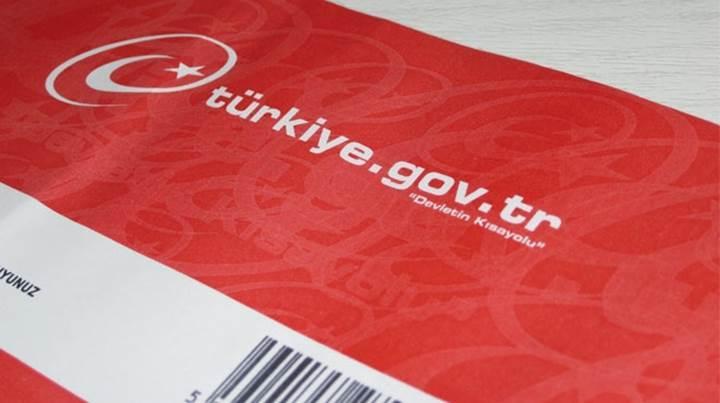 Türkiye nüfüsunun yarısı e-Devlet Kapısı'nı kullanıyor