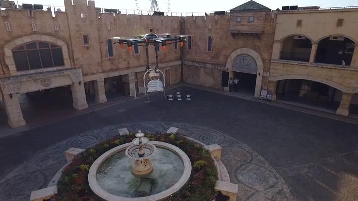 Bu drone'un kolları var (VİDEO)
